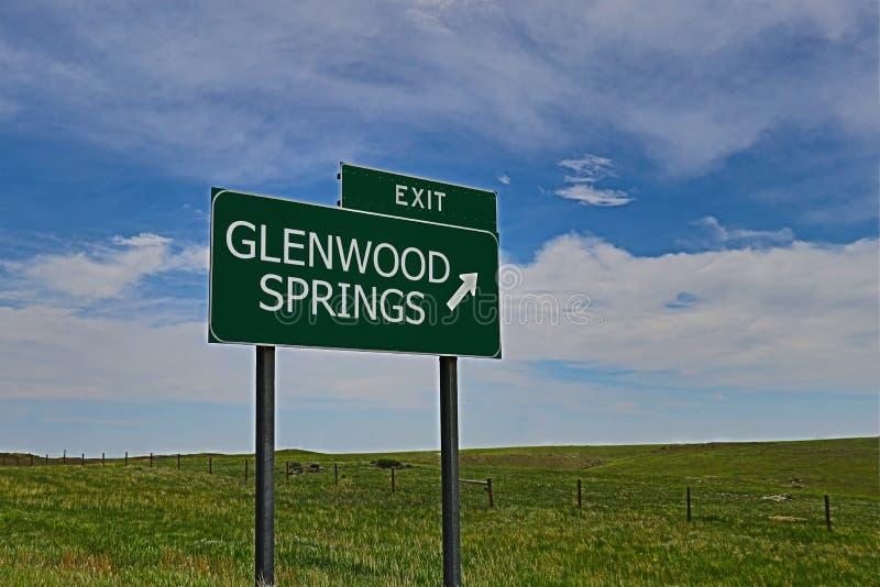 Glenwood Springs royaltyfri bild