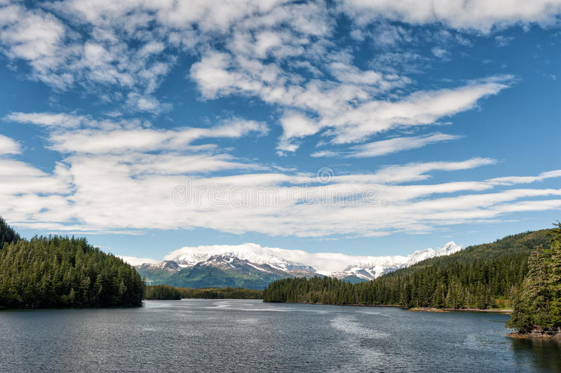 Gletscher-Ansicht Ton Alaska-Prinzen William stockbilder