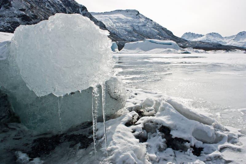 Gletscher-Eis lizenzfreie stockfotografie