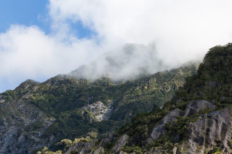 Gletscher Franz Josef lizenzfreie stockfotos