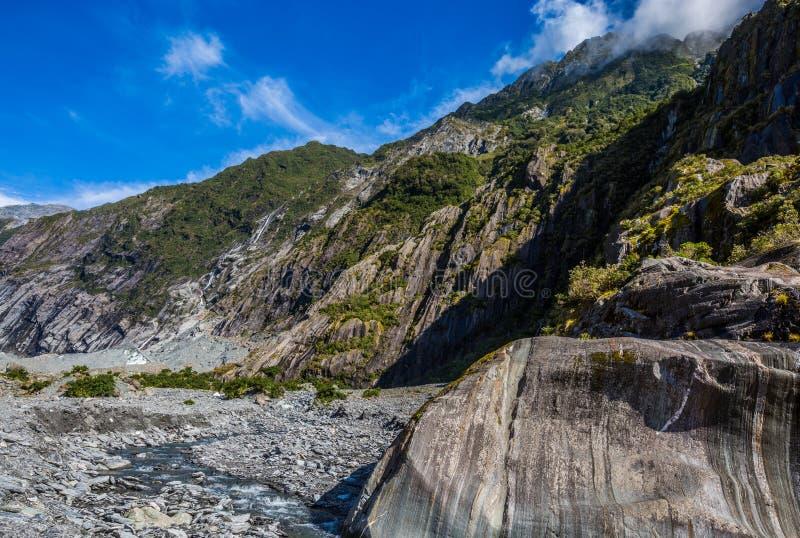 Gletscher Franz Josef lizenzfreie stockfotografie