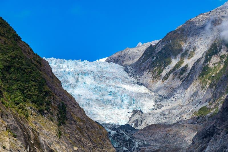Gletscher Franz-Josef, Neuseeland lizenzfreie stockfotos
