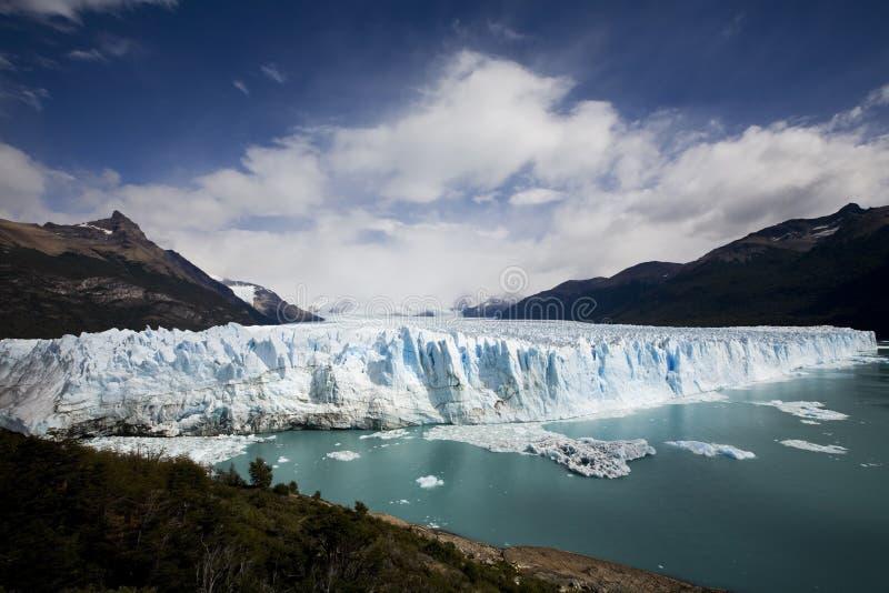 Gletscher ice. Glacier ice at Perito Moreno in patagiona stock photography