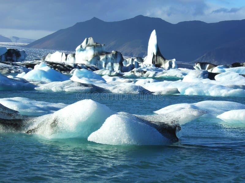 Gletscher in Island stockfoto