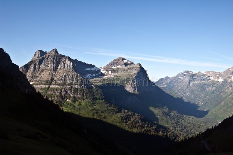 Gletscher-Nationalpark, Montana lizenzfreie stockfotos