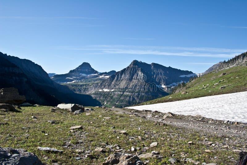 Gletscher-Nationalpark, Montana lizenzfreies stockbild