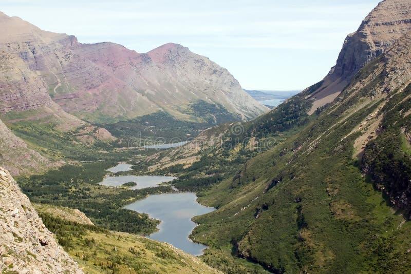 Gletscher-Nationalpark, Montana lizenzfreie stockbilder