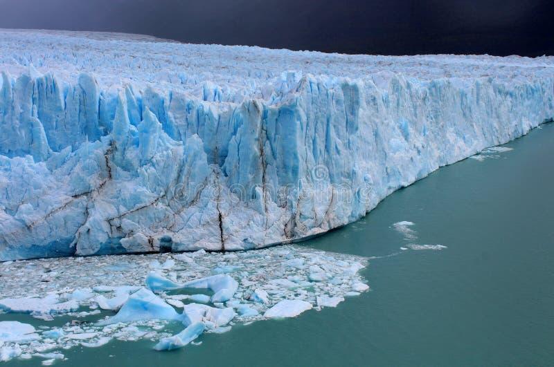 Gletscher Perito Moreno lizenzfreie stockfotografie