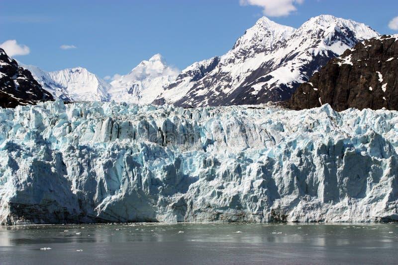 Gletscher-Schacht lizenzfreies stockbild