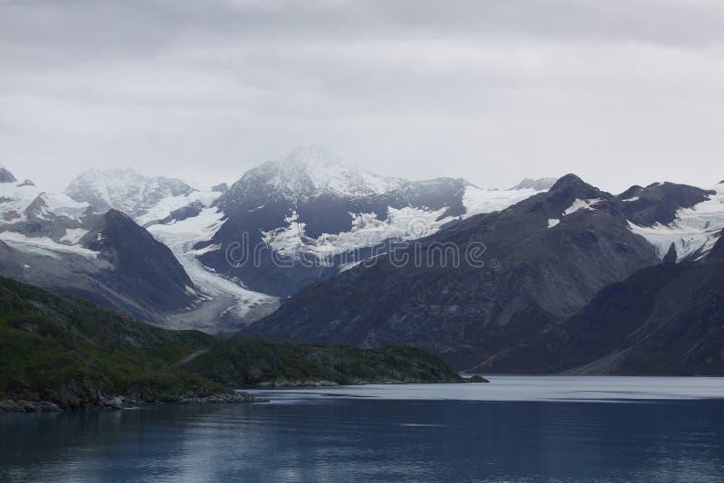 Gletscher-Schacht-Nationalpark Alaska lizenzfreies stockbild