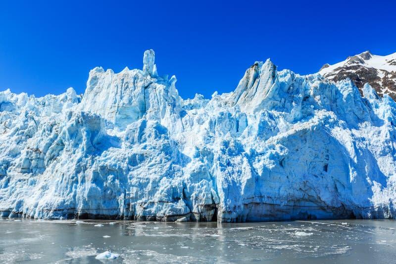 Gletscher-Schacht-Nationalpark, Alaska lizenzfreie stockfotos