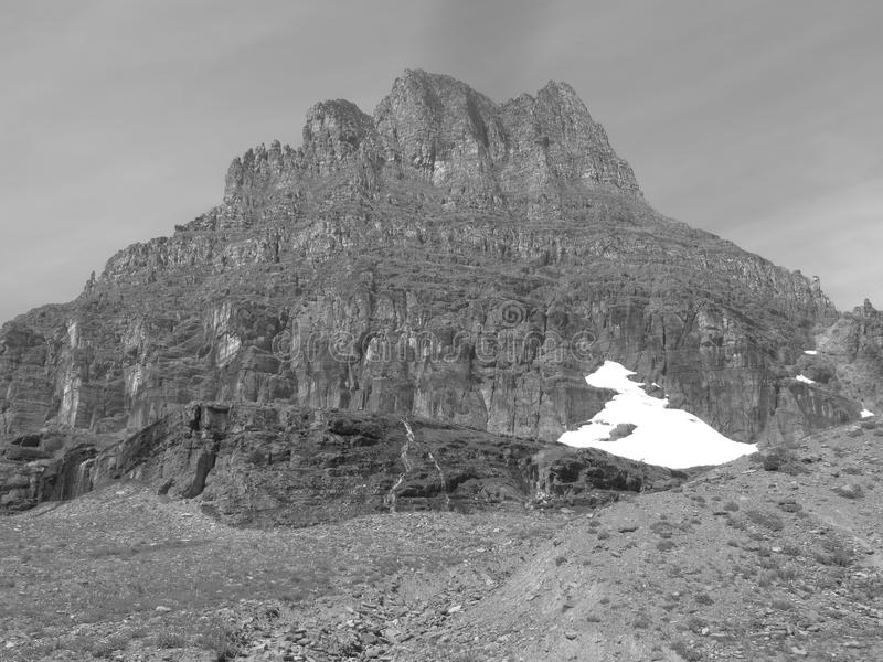 Gletscher schmelzen lizenzfreie stockfotos
