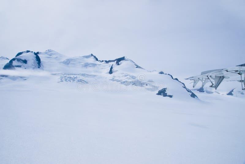 Gletscher in Skagway Alaska stockfoto