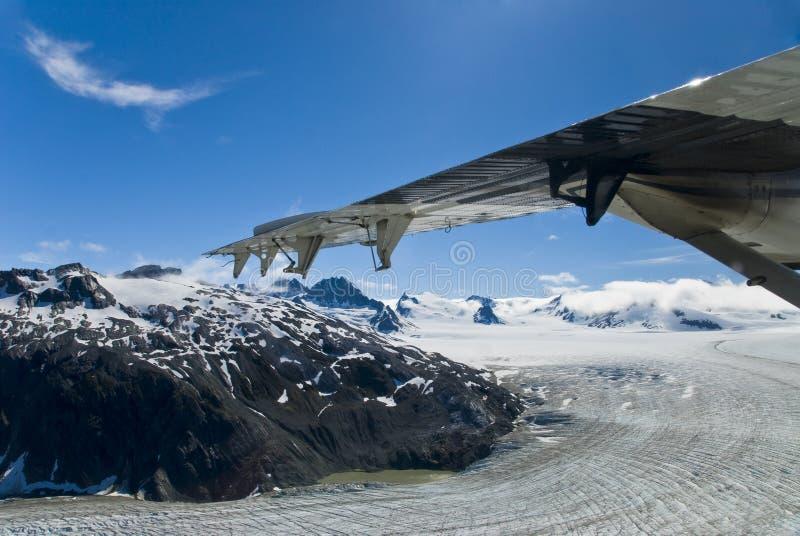 Gletscher in Skagway Alaska stockfotos