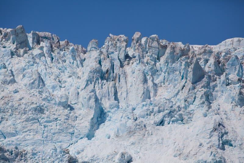 Gletschergesicht lizenzfreie stockbilder