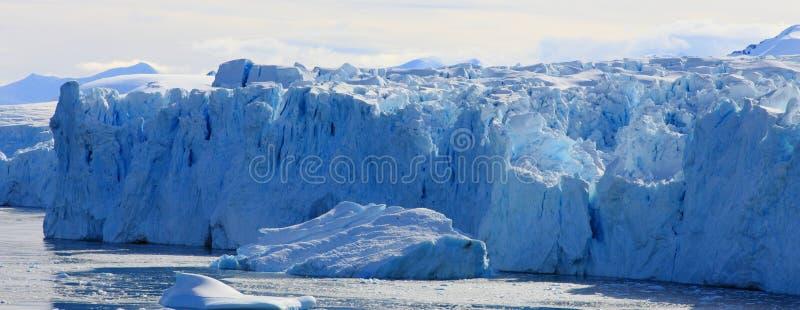 Gletscherwand stockbilder
