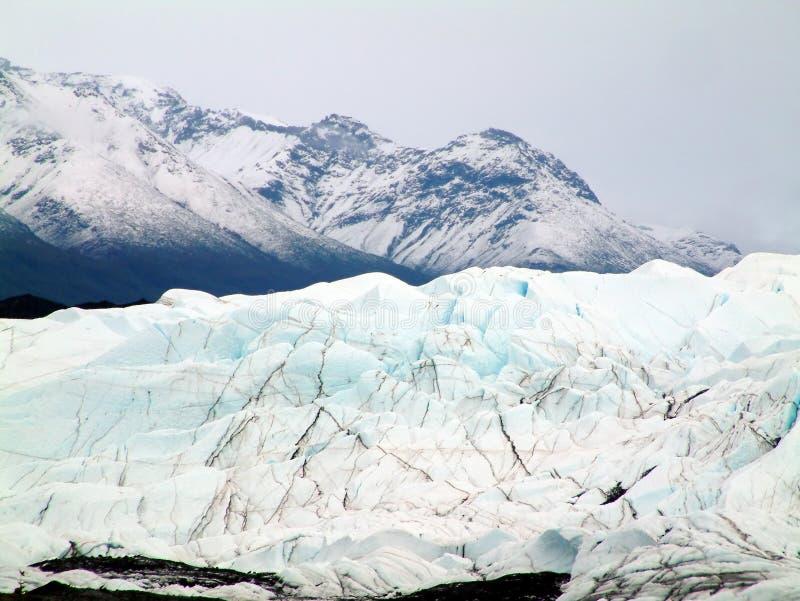Gletsjer in Alaska royalty-vrije stock afbeelding