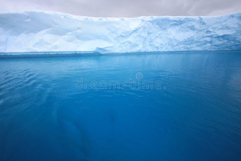 Gletsjer in Antarctica stock afbeelding