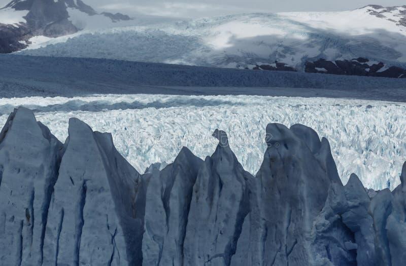 Gletsjer in Argentinië royalty-vrije stock foto