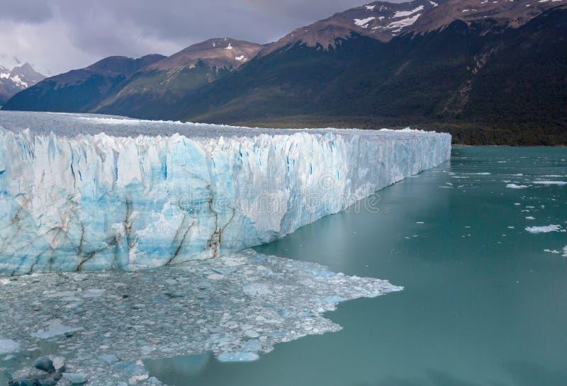 Gletsjer in Argentinië royalty-vrije stock foto's