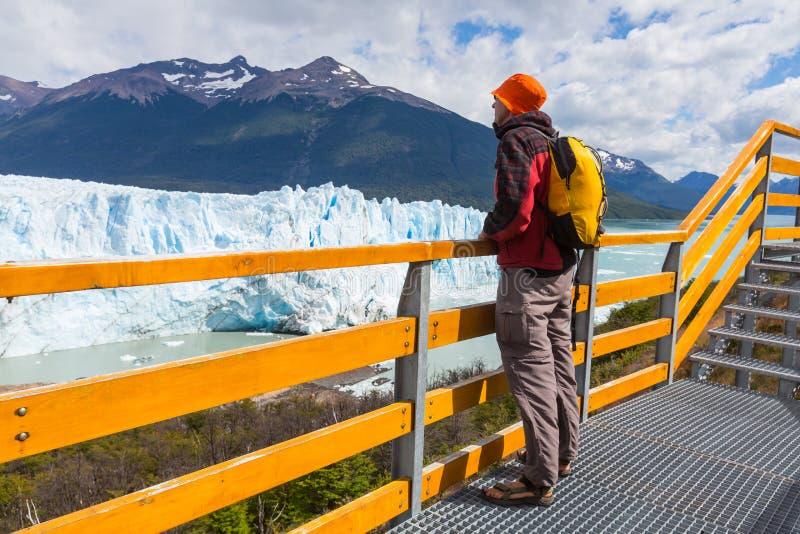 Gletsjer in Argentinië royalty-vrije stock fotografie