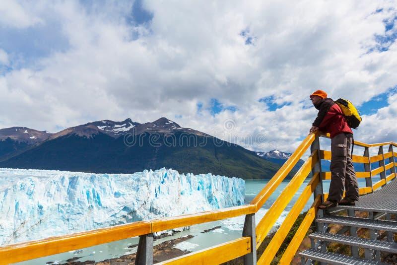 Gletsjer in Argentinië stock foto