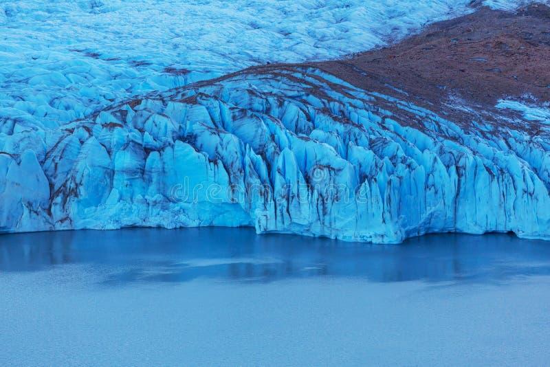 Gletsjer in Argentinië stock afbeeldingen