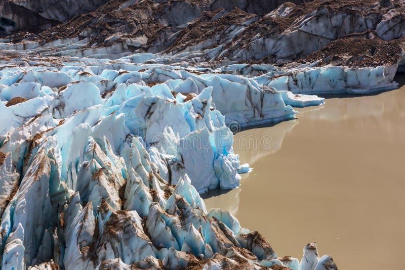 Gletsjer in Argentini? royalty-vrije stock foto