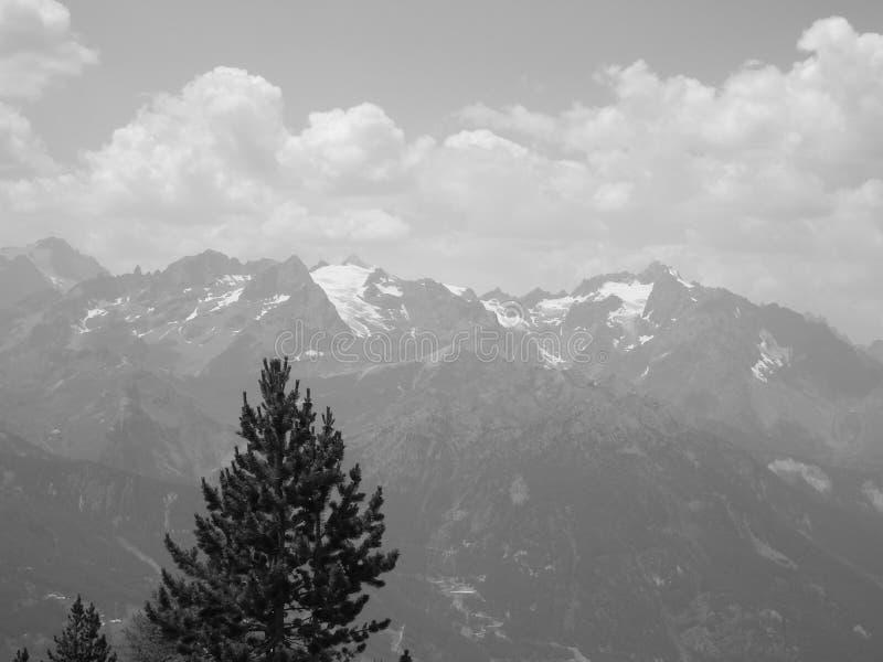 Gletsjer des agneaux, Hautes-Alpes Frankrijk stock foto
