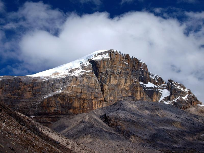 Gletsjer Gr Cocuy Colombia royalty-vrije stock foto's