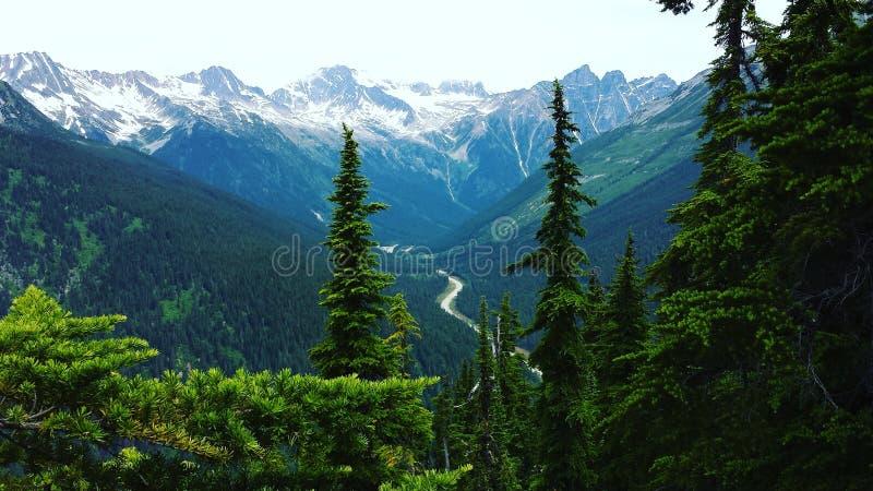 Gletsjer Nationaal Park (Canada) royalty-vrije stock afbeeldingen