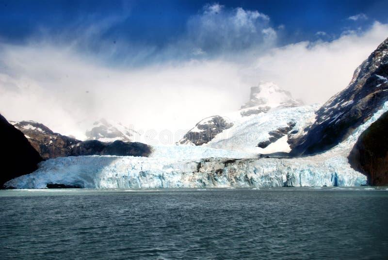 Gletsjer Spegazzini royalty-vrije stock foto's