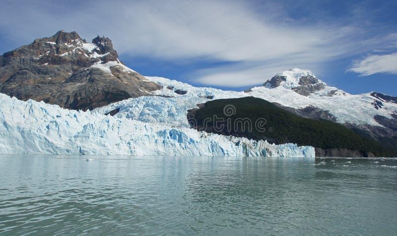 Gletsjer Spegazzini, Patagonië, Argentinië royalty-vrije stock fotografie