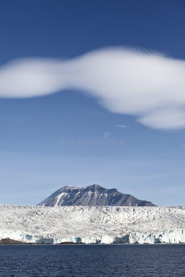 Gletsjer in Spitsbergen stock afbeeldingen