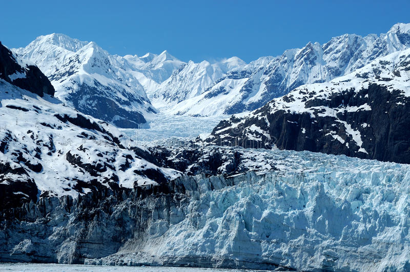 Gletsjerbaai stock foto's