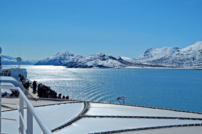 Gletsjerbaai stock afbeelding