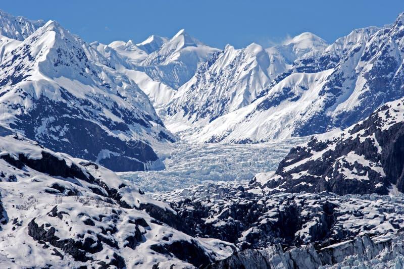 Gletsjerbaai royalty-vrije stock fotografie