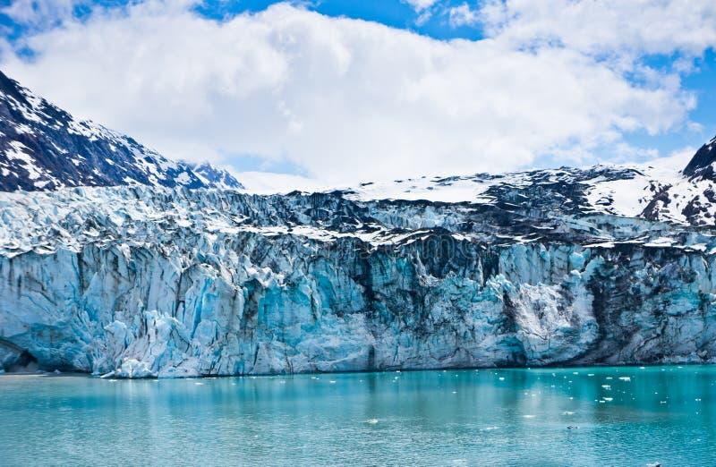Gletsjerbaai in Alaska, Verenigde Staten stock foto's