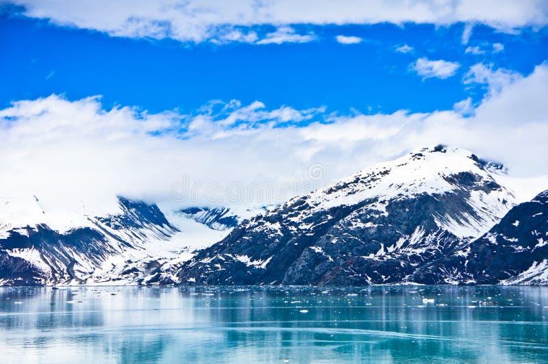 Gletsjerbaai in Alaska, Verenigde Staten royalty-vrije stock afbeelding