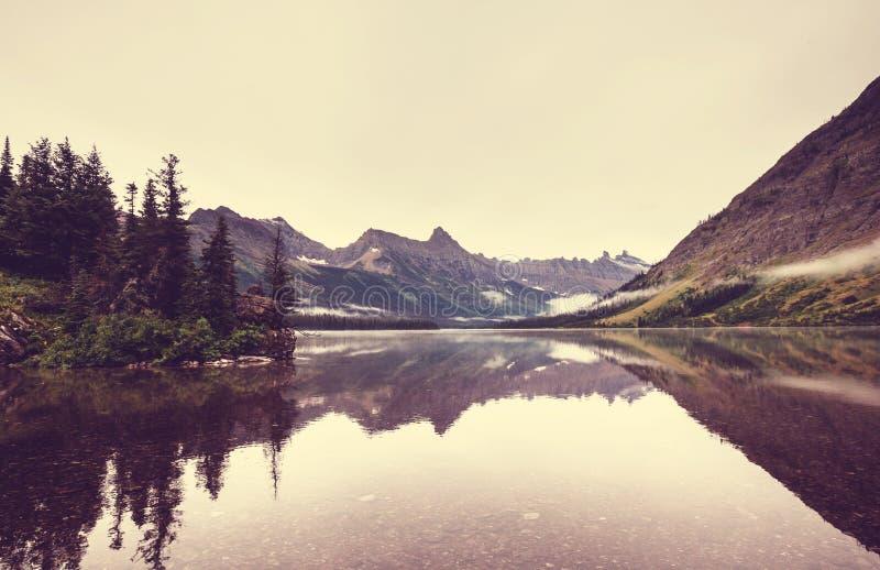 Gletsjerpark royalty-vrije stock afbeeldingen
