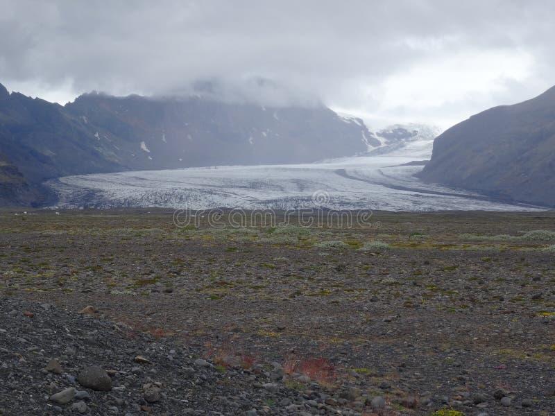 Gletsjervallei stock afbeelding