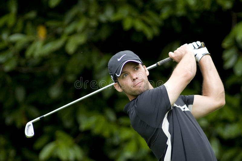 GLF: Ευρωπαϊκό πρωτάθλημα της BMW PGA γύρου στοκ εικόνα με δικαίωμα ελεύθερης χρήσης