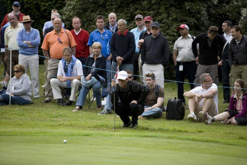 GLF: Meisterschaft Europatournee BMWs PGA stockfotos