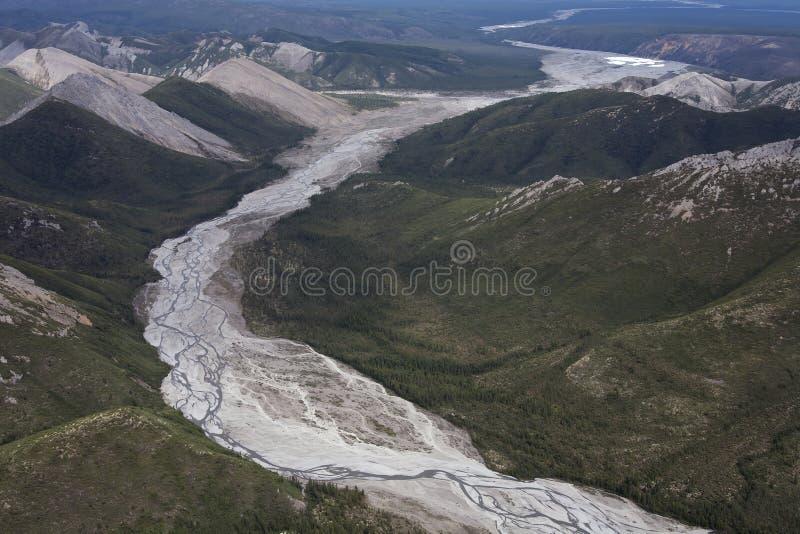 Gli altopiani di Kolyma immagine stock