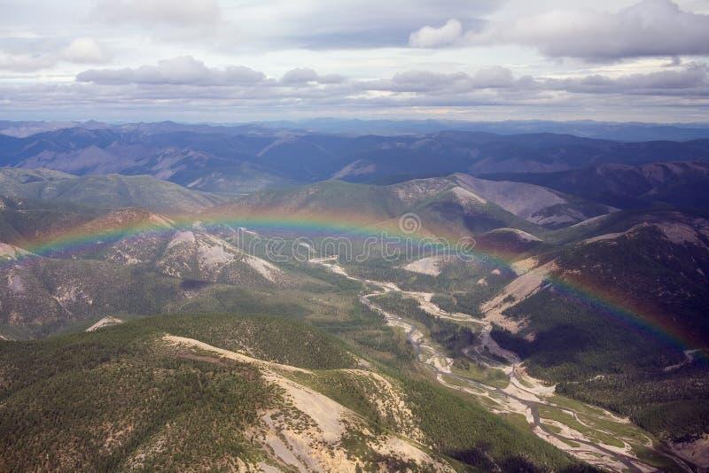 Gli altopiani di Kolyma fotografia stock libera da diritti