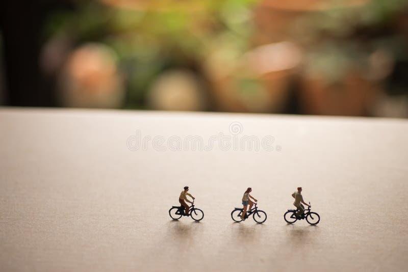 Gli amici sono sul viaggio della bici immagine stock libera da diritti