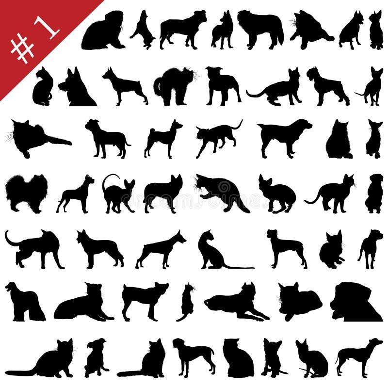 Gli animali domestici proietta # 1 royalty illustrazione gratis