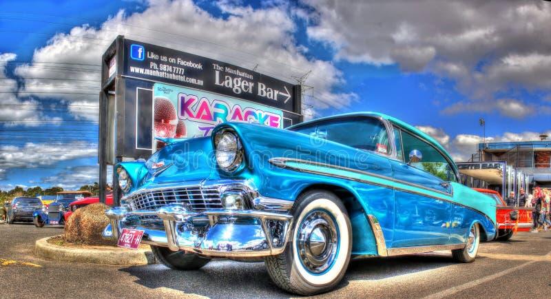 Gli anni 50 classici Chevy fotografie stock