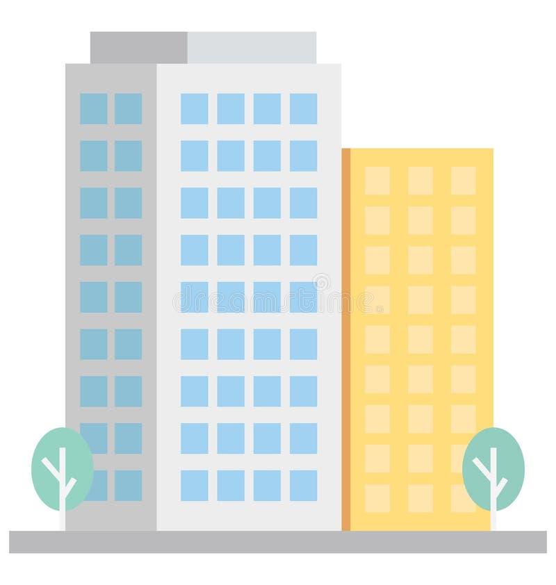 Gli appartamenti di base di RGB colorano l'icona isolata di vettore che può modificare o pubblicare facilmente illustrazione di stock