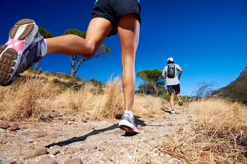 Addestramento maratona fotografia stock libera da diritti